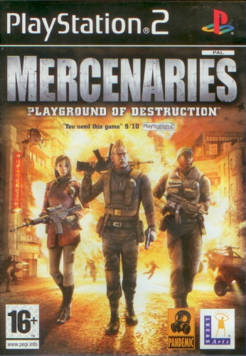 Mercenaries: Playground of Destruction (PS2) použité