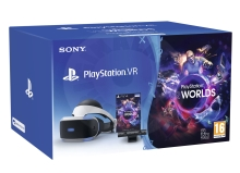 Sony PlayStation VR V2 + Camera V2 + VR Worlds (PS4)