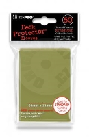 UltraPRO Deck Protector: 50 Sleeves - Metallic Gold