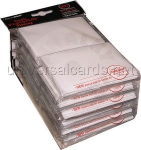 UltraPRO Deck Protector: 100 Sleeves - White