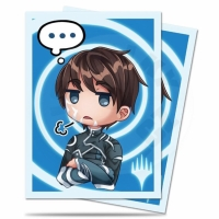 UltraPRO Deck Protector: 100 Sleeves - Chibi Collection: Jace - Sigh... for Magic
