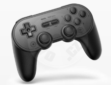 8BitDo SN30 Pro+ Gamepad Black Edition (Switch/PC/Mac/Android)