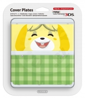 New 3DS Cover Plate Isabelle