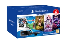 Sony PlayStation VR V2 + Camera V2 + 5 her (Moss VR, Blood&Truth, AstroBot, Ev.Golf, VRW)