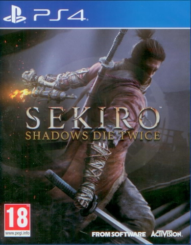 1bcf1ff6c Sekiro: Shadows Die Twice (PS4)