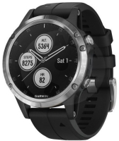 Garmin Fenix 5 Plus - silver / black