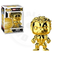 Funko POP Bobble Marvel: MS 10: Hulk (Chrome)