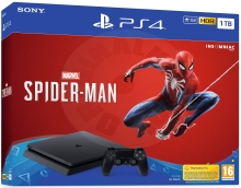 Sony PlayStation 4 Slim 1 TB Spider-Man bundle