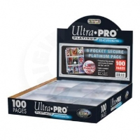 UltraPro Platinum Series 9 Pocket Page A4 (page in album)