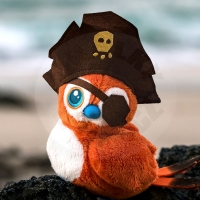 Plush World of Warcraft - Pirate Pepe