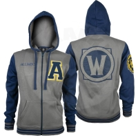 World of Warcraft Alliance Varsity Mikina - velikost - M