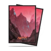 UltraPRO Deck Protector: 80 Sleeves - Land Mountain