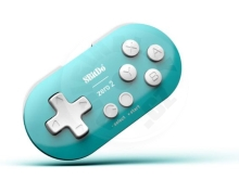 8BitDo Zero 2 Bluetooth Controller Turquoise Edition (Switch/PC/Mac/Android)