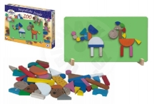 Detoa Magnetic puzzle ZOO in a box 33x23x3,5cm