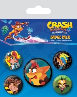 Crash Bandicoot 4 Badge Pack