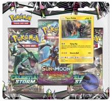 Pokémon Sun and Moon 7 - Celestial Storm - 3 Pack Blister - Tapu Koko