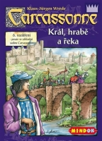 Carcassonne - King, count and river
