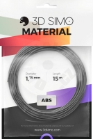 3DSimo Filament TERMOCHROME (MultiPro/KIT) - 15m color-changing with heat (grey to silver)