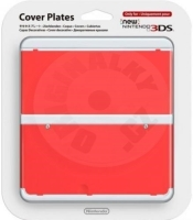 New 3DS Cover Plate Red