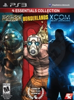 Essentials Collection: Bioshock + Borderlands + XCOM: Enemy Unknown (PS3) použité