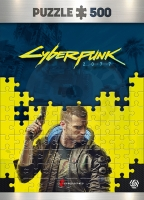Good Loot - Cyberpunk 2077: Keyart Male V Puzzle - 500ks