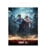 Resident Evil 2 -Leon and Claire - WallScroll