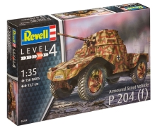 REVELL Plastic ModelKit Military - Armoured Scout Vehicle P 204 1:35