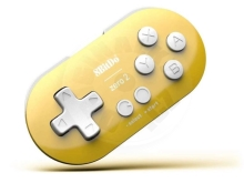 8BitDo Zero 2 Bluetooth Controller Yellow Edition (Switch/PC/Mac/Android)