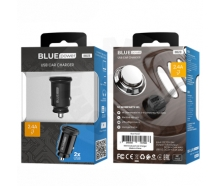 BLUE Power BBA25A -  universal 2x USB charger with Lightning cable