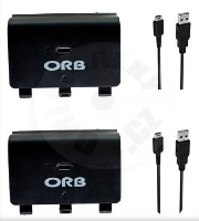 ORB Dual Controller Charge & Play Battery Pack (XONE)