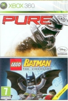 Pure + Lego Batman The Videogame (X360) použité