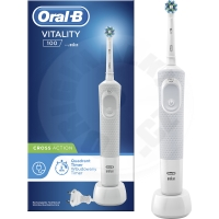 Oral-B Vitality 100 CrossAction - bílá