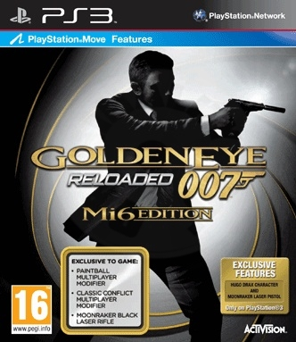 GoldenEye 007 Reloaded - Mi6 Edition (PS3) použité