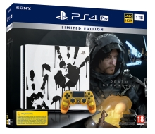Sony PlayStation 4 Pro 1 TB Death Stranding Limited Edition