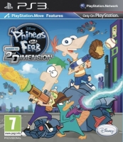 Phineas and Ferb Across the 2nd Dimension (PS3) použité