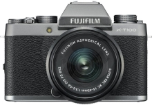 Fujifilm X-T100 + XC15-45 - 24,3MP – Dark Silver