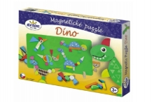 Detoa Magnetic puzzle Dinosaurs in a box 33x23x3,5cm