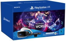 Sony PlayStation VR V2 + Camera V2 + VR Worlds (PS4/PS5)