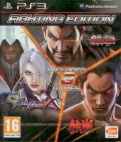 Fighting Edition: Tekken 6 + Tekken Tag Tournament 2 + SoulCalibur V (PS3)