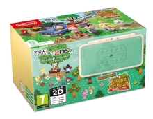 New Nintendo 2DS XL Console + Animal Crossing Edition