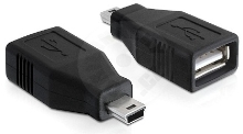 Delock USB Adapter 2.0 USB-A na USB-Mini