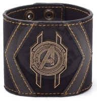 Avengers Infinity War - Leather Wristband Crest