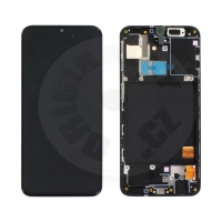 Samsung original LCD and touch layer for Galaxy A31 A315 - black