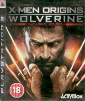 X-Men Origins: Wolverine Uncaged Edition (PS3) použité