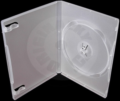 Super Clear Cover for 1 DVD 14mm clear
