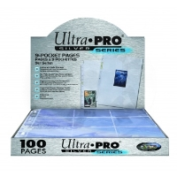 UltraPro Silver Series 9 Pocket Page A4 (page in album)