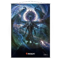 Magic: The Gathering Stained Glass Wall Scroll - Nicol Bolas