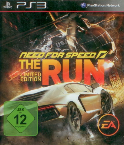 Need for Speed: The Run - Limited Edition (PS3) použité