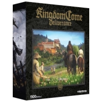 Kingdom Come: Deliverance  Puzzle - Castle on the hill - 1500pcs