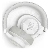 JBL Live 650 BTNC Headphone - bílá